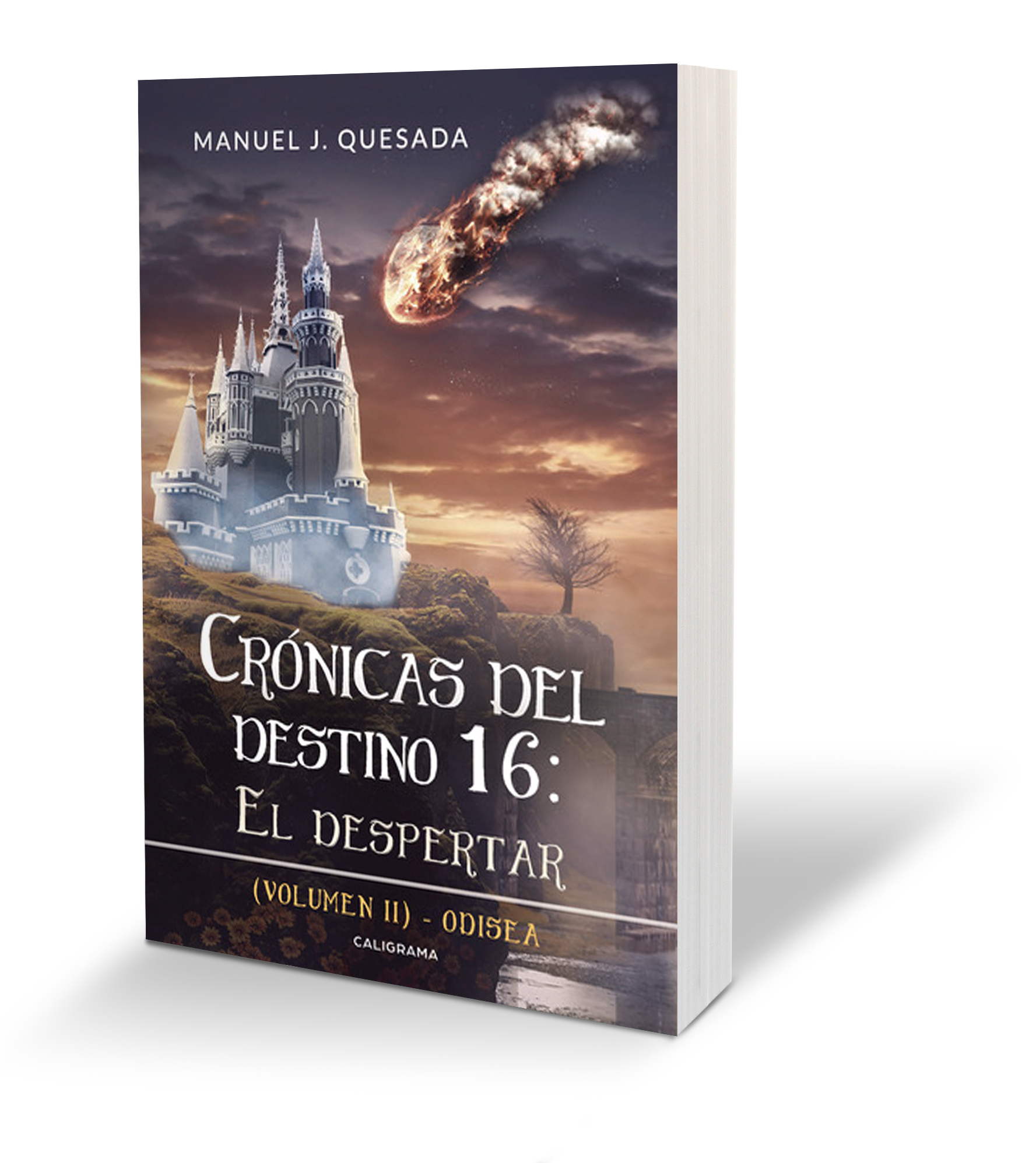 Booktrailer De Crónicas Del Destino 16 El Despertar Volumen Ii Caligrama Editorial